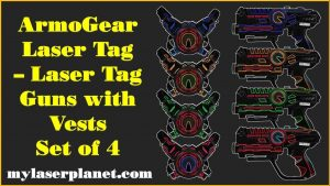 armogear infrared laser tag guns and vests review